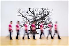 Dantastic (Baggers~) Tags: motion blur london art gallery creative multipleexposure motionblur tatebritain danborg