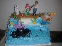 Little Mermaid Themed Birthday Cake Pemesan: Mbak Lani dari Bogor (ayupurwana) Tags: birthday cake pie little mermaid themed lani bogor dari alphabeta mbak pemesan