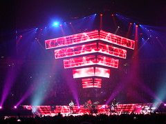 Muse 19 (notFlunky) Tags: show uk light england music men rock manchester lights concert neon stadium gig group band pop muse bulbs roll