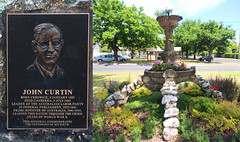 No. 330 \ Project 366 - John Curtin Memorial, Labor Prime Minister of Australia 1941-1945 - Creswick Victoria (spacountry) Tags: fountain stone garden politics politicians ww2 primeminister worldwar2 memorialstone memorialgarden johncurtin project365 laborparty australianlaborparty creswick australianprimeminister australianparliament spacountry hepburnshire project366 memorialcairn federalparliament 14thaustralianprimeminister johncurtinmemorial worldtwoii