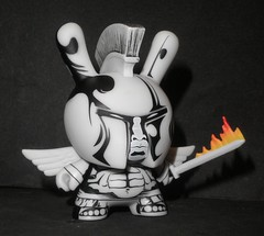 dunny (apocalypse series) JPK 01 (mikaplexus) Tags: street favorite streetart art angel pen ink toy toys wings artist designer sandals lol awesome wing apocalypse arts vinyl collection kidrobot flame knights collections armor artists sword knight kaiser fav collectible winged limited angelic rare collectibles collecting collector dunny 2012 arttoy kickass endoftheworld arttoys designertoy toy2r vinyltoy jpk vinyltoys dunnys designervinyl jonpaul fuckinga ireallylike flamingsword designervinyltoy apocalypseseries jonpaulkaiser