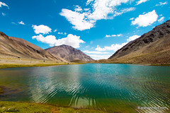 Gentle Breeze Blows In The Mountains (Pranav Bhasin) Tags: sky mountains water leh ladakh pangong