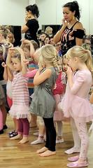 Dance class (bokage) Tags: woman dance child sweden teacher täby