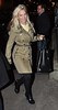 Luisana Lopilato leaving Bang Restaurant Dublin, Ireland