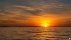 Sunset Rockanje (BraCom (Bram)) Tags: sunset sea lighthouse holland canon reflections zonsondergang widescreen nederland thenetherlands noordzee zee northsea 169 vuurtoren zuidholland spiegeling rockanje canonef24105mmf4lisusm bracom canoneos5dmkiii bramvanbroekhoven