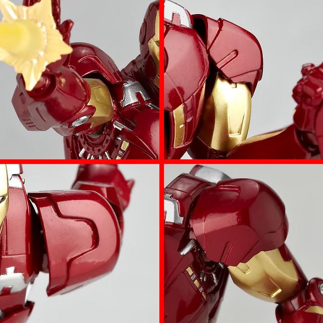 海洋堂 REVOLTECH IRONMAN MK 7 輪轉可動鋼鐵人MK 7