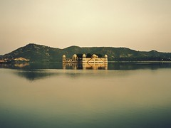 Thousand years (*ZooZoom) Tags: life india lake asia jaipur jalmahal waterpalace athousandyears