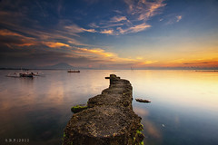 A Path To Heaven (Satrya_Budhi) Tags: bali beach sunrise canon indonesia sanur waterscapes