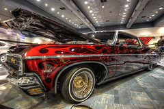 Cherry (eCHstigma) Tags: sf sanfrancisco california cars chevrolet nikon autoshow tokina chevy autos ultrawide lowrider hdr carshow d600 1735mmf4