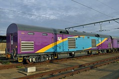 Refurbished Shosholoza Meyl Power Van No. 20520 (SAR Connecta) Tags: railway trains sas sar prasa shosholozameyl southafricanrailway