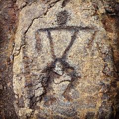 Hawaiian Petroglyph (Cave Art Gal) Tags: old art rock island hawaii big ancient native carving engraving hawaiian ethnic prehistoric petroglyph primitive the