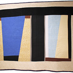 """<b>Egypt: Day and Night, No. 51, 1981 (after: Keith Achepohl)</b><br/> Rebecca Kamm (Art Quilt, 2011)<a href=""""http://farm9.static.flickr.com/8070/8242704130_88dfde5932_o.jpg"""" title=""""High res"""">∝</a>"""