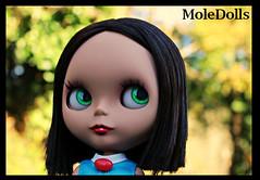 Custom Blythe N.47 by MoleDolls