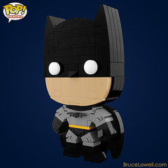 LEGO Batman (POP! Hero) (bruceywan) Tags: dark dc lego bruce wayne vinyl pop batman knight heroes superheroes rises photostream funko moc brucelowellcom