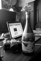 Moscato (Victoria Louise Le) Tags: wine laptop dine yashica moscato