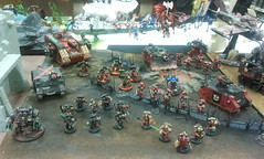 My 2012 A.O.P. display (Red_Dragon6481) Tags: red death blood dragons games angels workshop comany