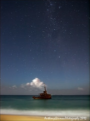Middlenight (AnthonyGinmanPhotography) Tags: stars atnight f28 milkyway stocktondunes mvsygna