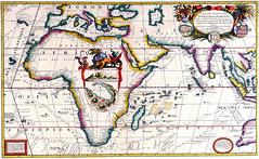 Antique Maps (divinumphoto) Tags: map 1690 mapofafrica antiquemapsoftheworld vincenzocoronelli