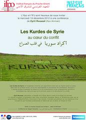 Conférence : Les Kurdes de Syrie au cœur du co...