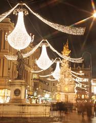 Am Graben (Miss_Iks) Tags: vienna wien christmas city winter shopping austria sterreich advent capital hauptstadt sightseeing weihnachtszeit altstadt innenstadt graben sehenswrdigkeit strase habsburger krtener