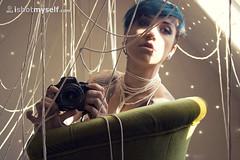 Cobweb (Dwam) Tags: selfportrait cobweb bluehair cordes toile ism selfshot treads ishotmyself dwam