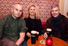 Paul McCabe, Katarina Cornelius, David Erixon, Bord na M�na hosted a cosy drinks evening in aid of the Short Stories For A Long Night book supporting Focus Ireland. Irish singer/songwriter, Mundy was the seancha� for the night and duetted alongside TV3's Elaine Crowley.