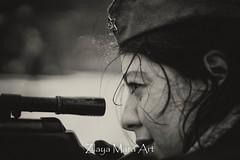 Soviet strike (Zlaya & Mara Art) Tags: cute war russia soviet redstar katjusha snipergirl gunold