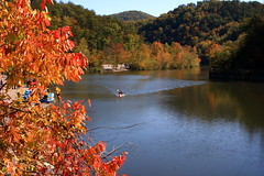 Ocoee 1 (Synthcat) Tags: fall river 1996 olympics ocoee rafts quot waterquot quotwhite riverquot quotocoee quot1996