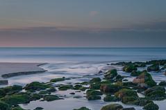 Waterflow (barryvanede) Tags: sunset sea seascape water nikon rocks long exposure north le d90