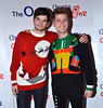 Harry and Alfie of Hudson Taylor Cheerios Childline Concert 2012
