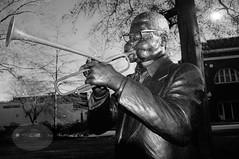"James Birk ""Dizzy"" Gillespie (Philip Osborne Photography) Tags: sc statue dizzy gillespie cheraw 2013"