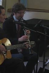 Benoit Viellefon Quartet (2016) 03 - Dave Shulman (KM's Live Music shots) Tags: greatbritain jazz swing clarinet outtolunch cadoganhall swingmanouche daveshulman benoitviellefon