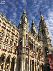 town hall Vienna (Gina's Atelier) Tags: townhall cityhall rathaus sterreich wien austria vienna