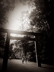 Ise Grand Shrine.  Japan (anilegna) Tags: iphone iseshima japan amanemu