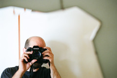 (deanmackayphoto) Tags: 50couchesin50nights cypresspark losangeles california 35mm film filmisnotdead contax chrismurray mirror selfie selfportrait bathroom deanmackayphotography deanmackay