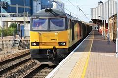 60002 Warrington Bank Quay Station (DieselDude321) Tags: 60002 class 60 colas rail 6j37 1159 carlisle yard warrington bank quay station logs