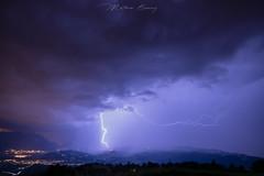 blasted (boussey mathieu) Tags: lightning strom landscape night cloud