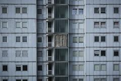 Spazi ristretti (sdrusna79) Tags: finestre window cemento horror architettura anni 70 brutto alveare