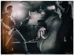 Duel (Brice L) Tags: guitar bass doublebass concert live rock