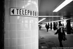 Land before mobiles - Melbourne Australia (Keystone Photography) Tags: repacholi keystone leicam240 melbourne victoria australia urbanlife candid street telephone technology vintage socialchange