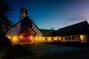 Skjold Church (Vidar Karlsen) Tags: bergen europe fana gnd hordaland nd norway skjold skjoldchurch skjoldkirke building church longexposure sky summer sunset tower