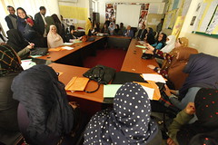 Kabul Governor urges Afghan women to participate in public life at UN-backed event (UN Assistance Mission in Afghanistan) Tags: photo kabul un unama 31august2016 august 2016 afghanistan 20160831 unitednations fardinwaezi interview radio visual unamavisualradio facebook program gabrielairibarne unamahumanrights organizing workshop designed enhance womens participation publiclife socialandpolitical decisionmaking process mechanisms documentincrease understanding perceptions peace security districts kabulprovince mosehi khakejabar charasyab shaheraragarden womenaffairs afg