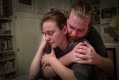 Solace (Tim Brown's Pictures) Tags: grief sadness tears crying helping mourning deathinthefamily