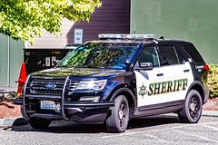 Snohomish County Sheriff's Office Ford 2016 Police Interceptor Utility SUV (andrewkim101) Tags: snohomish county sheriffs office ford 2016 police interceptor utility suv south precinct mill creek wa washington state