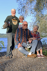 1221 (Jean Arf) Tags: trumansburg ny newyork summer 2016 cayuga lake jim yvie kevin joanne