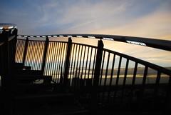 DSC_9615 (2) (Becci12.07) Tags: himmel wolken sonnenuntergang nrw ruhrpott industrie beleuchtung licht treppen achterbahn mountain magic tigerandturtle duisburg magicmoutain gelnder