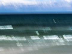 seascape (Pramort) (christiane wilke) Tags: ostsee baltic sea water landscape icm motion blur green waves wellen vorpommern