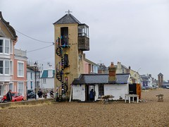 Aldeburgh (velodenz) Tags: velodenz fujifilm x30 digital image phot photo photograph photography cycling cycletouring cyclisme cyclotourisme ctc cyclinguk holiday vacation en vacances trip birthday rides suffolk east anglia england united kingdom uk great britain gb aldeburgh coastal town resort beach seaside lookout watchtower watch tower