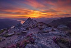 The Days Ending (J McSporran) Tags: scotland trossachs lochlomondandtrossachsnationalpark benaan lochkatrine sunset