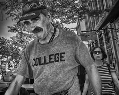 Market Street, 2016 (Alan Barr) Tags: philadelphia 2016 marketstreet marketstreeteast marketeast street sp streetphotography streetphoto blackandwhite bw blackwhite mono monochrome candid people fujifilm x70
